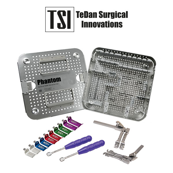 TeDan Surgical Innovations - CS-1605 Retractor ACDF Mini Completo