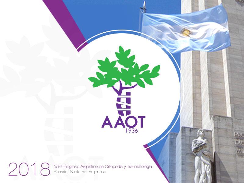 AAOT - 55º Congreso Argentino de Ortopedia y Traumatología - 2018