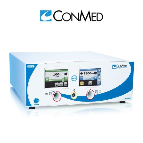 D4000 Consola de artroscopia táctil con doble puerto